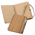 NOTE PAD WITH BAMBOO COVER