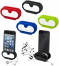 ROCKZ SMARTPHONE STAND AMPLIFIER AND EARBUD WRAP